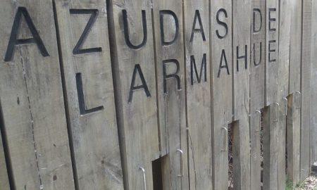 Azudas - Letrero