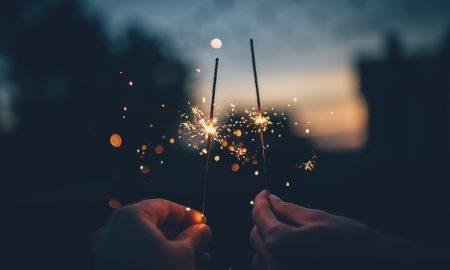 año nuevo - Luces