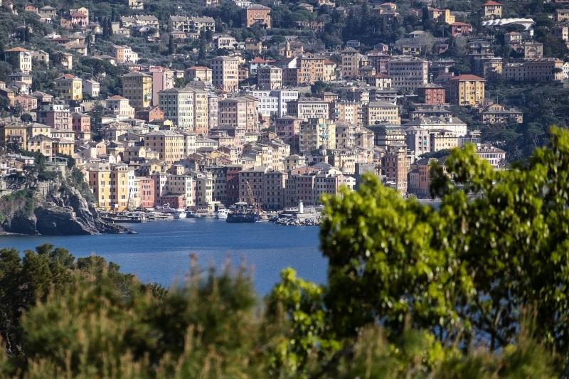 Mirador Ciudad de Camogli - Italia