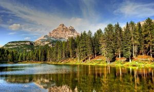 sierras - Lago Italia
