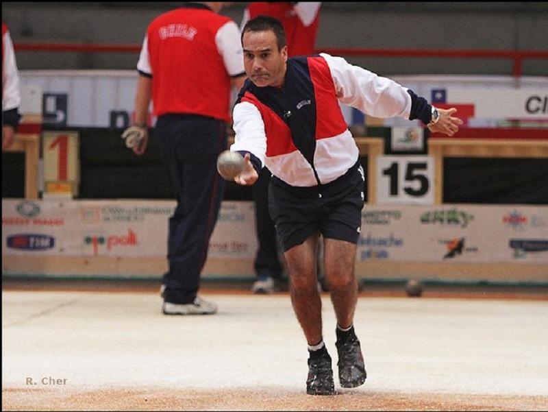Bochas - Jugador Rodolfo Gálvez