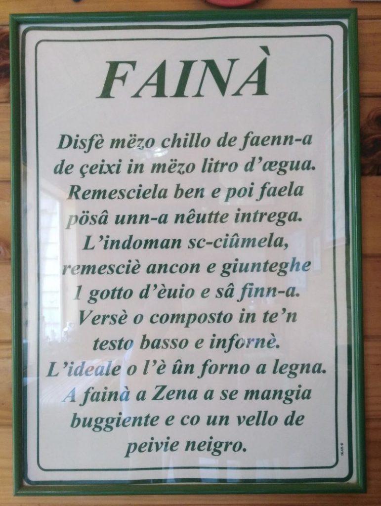 liguria - Faina