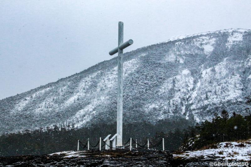 meteorología y fotografía se unen - Imagen de la cruz plantada para celebrar la Expedición de Magallanes