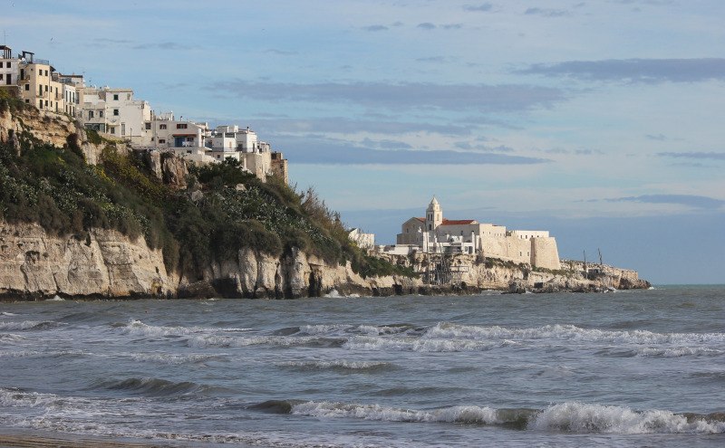 El Gargano: espolón de la península itálica - Playa