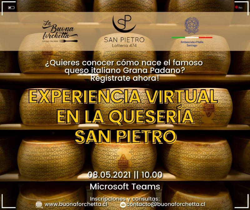Experiencia virtual - Locandina