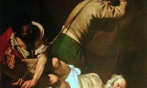 Caravaggio - Crucifixion