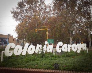 Colonia Caroya - Ingreso a la ciudad