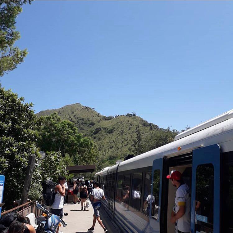 San Roque - Tren