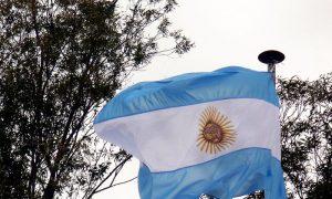 Chavarría - Bandera Argentina
