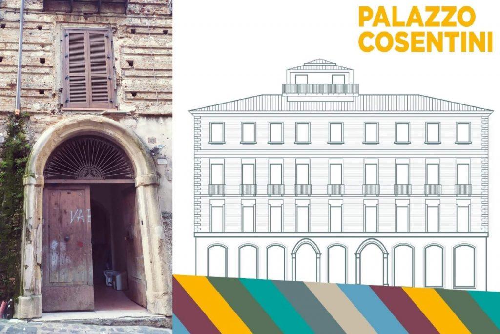 Entrata Palazzo Cosentini