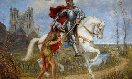 San Martino Icona a cavallo