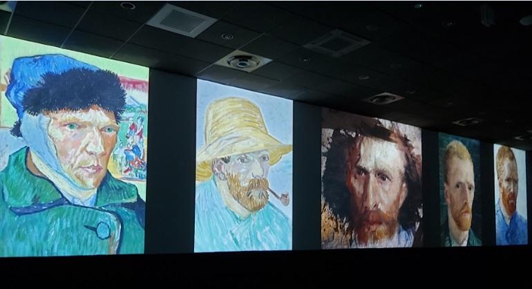 Van Gogh e i Volti