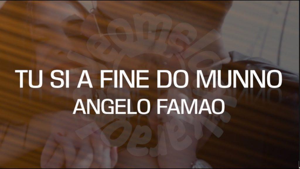 Angelo Famao a fine do Munno