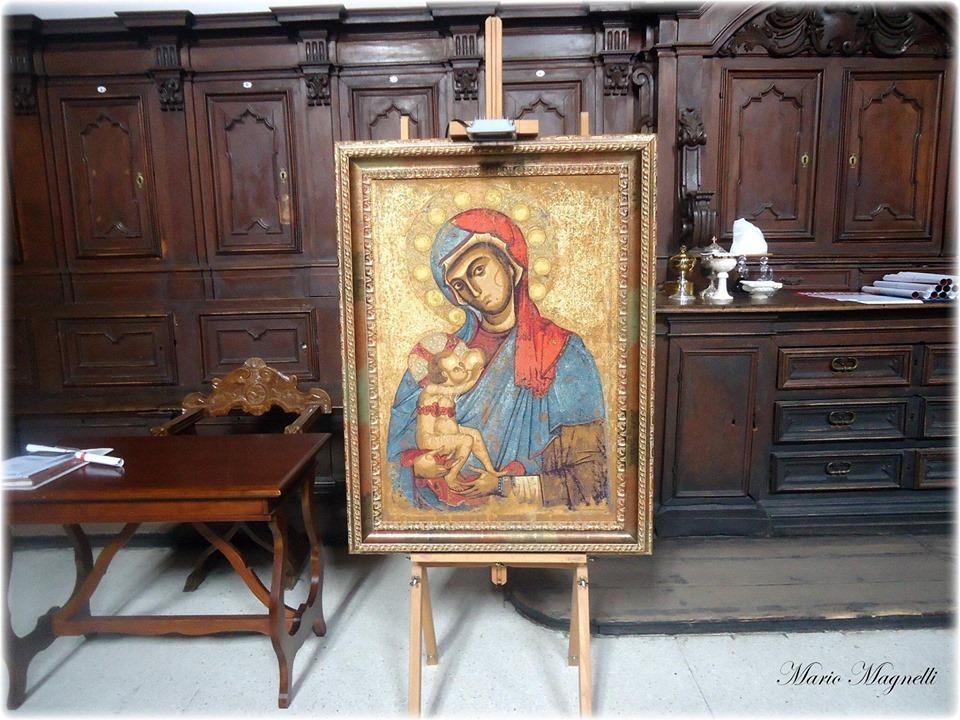 sacra effige della Madonna del pilerio