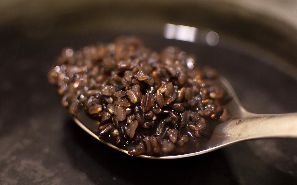 liquirizia e riso nero di sibari