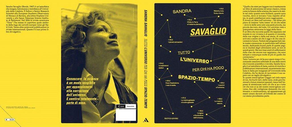 la copertina del suo libro