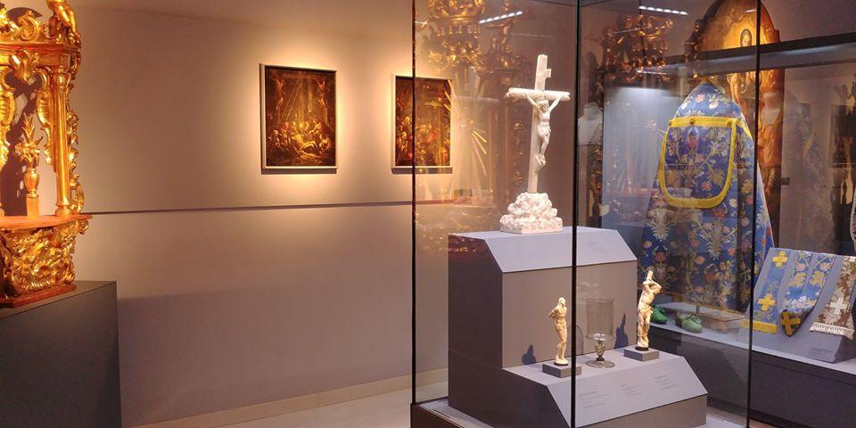 Stauroteca e una sala del Museo