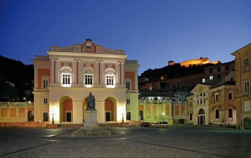 teatro Rendano Di Notte