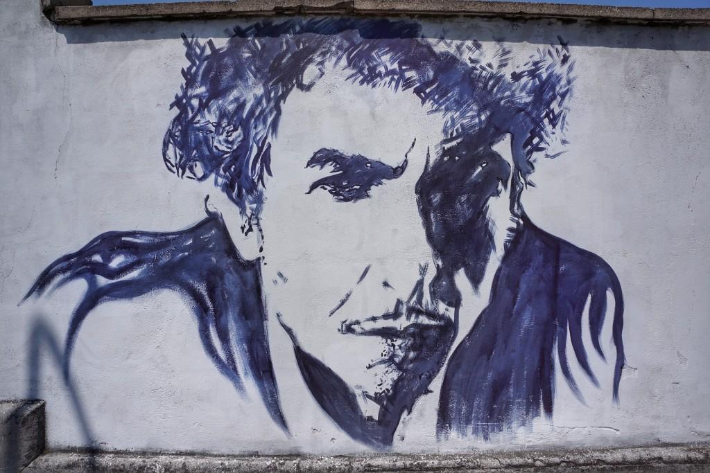 Ritratto di Bob Dylan