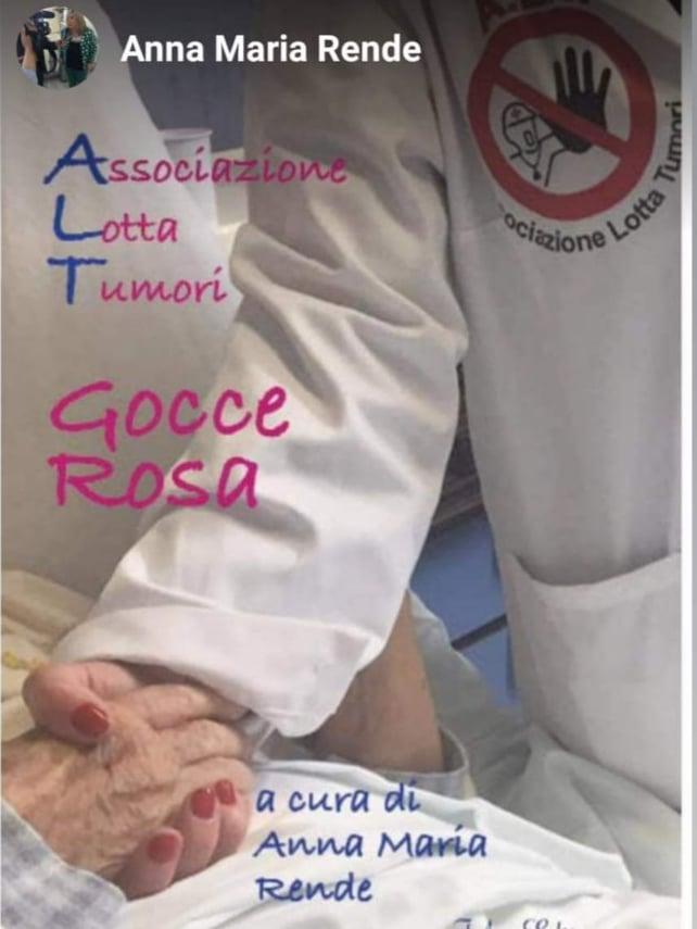 Gocce Rosa libro alt associazione lotta tumori