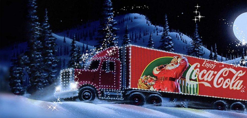 Christmas Truck Coca Cola