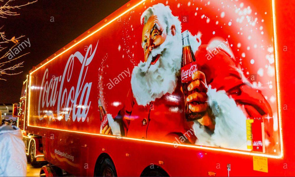 Copertina Babbo Natale Coca Cola
