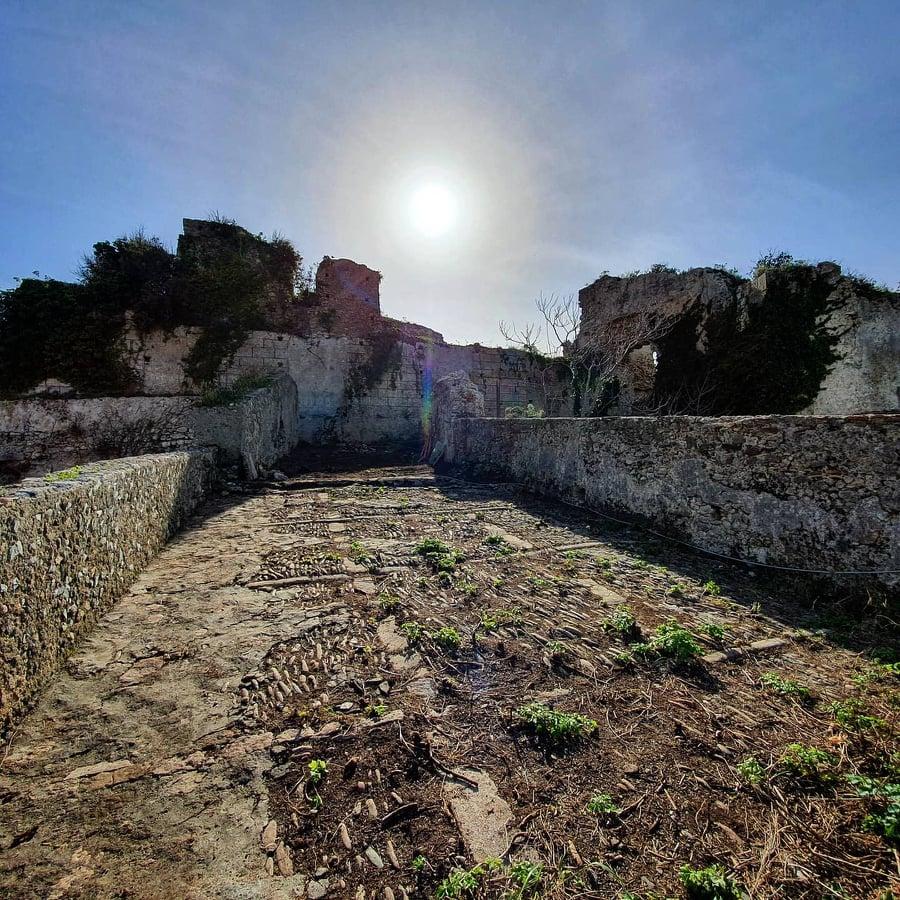 Parte Laterale Castello