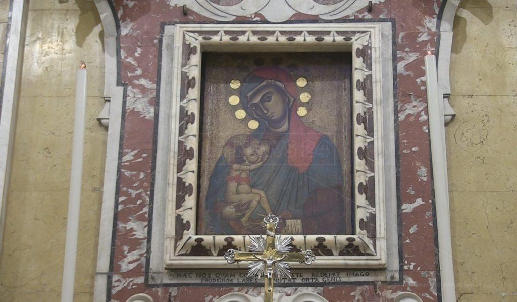Icona madonna Del Pilerio