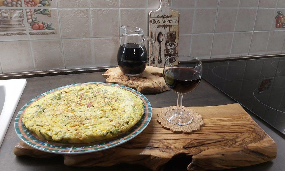 Frittata Pasquale Con Asparagi