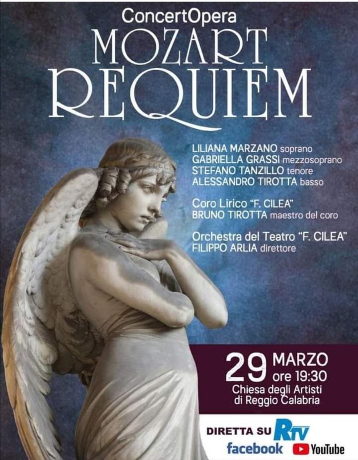 Mozart Requiem stefano tanzillo