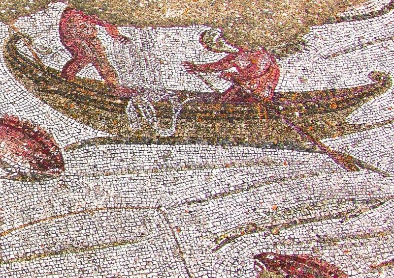 Mosaico Pesca del Tonno legionari romani