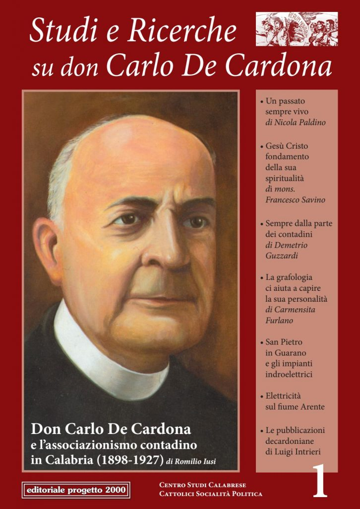 Studi E Ricerche Don De Cardona