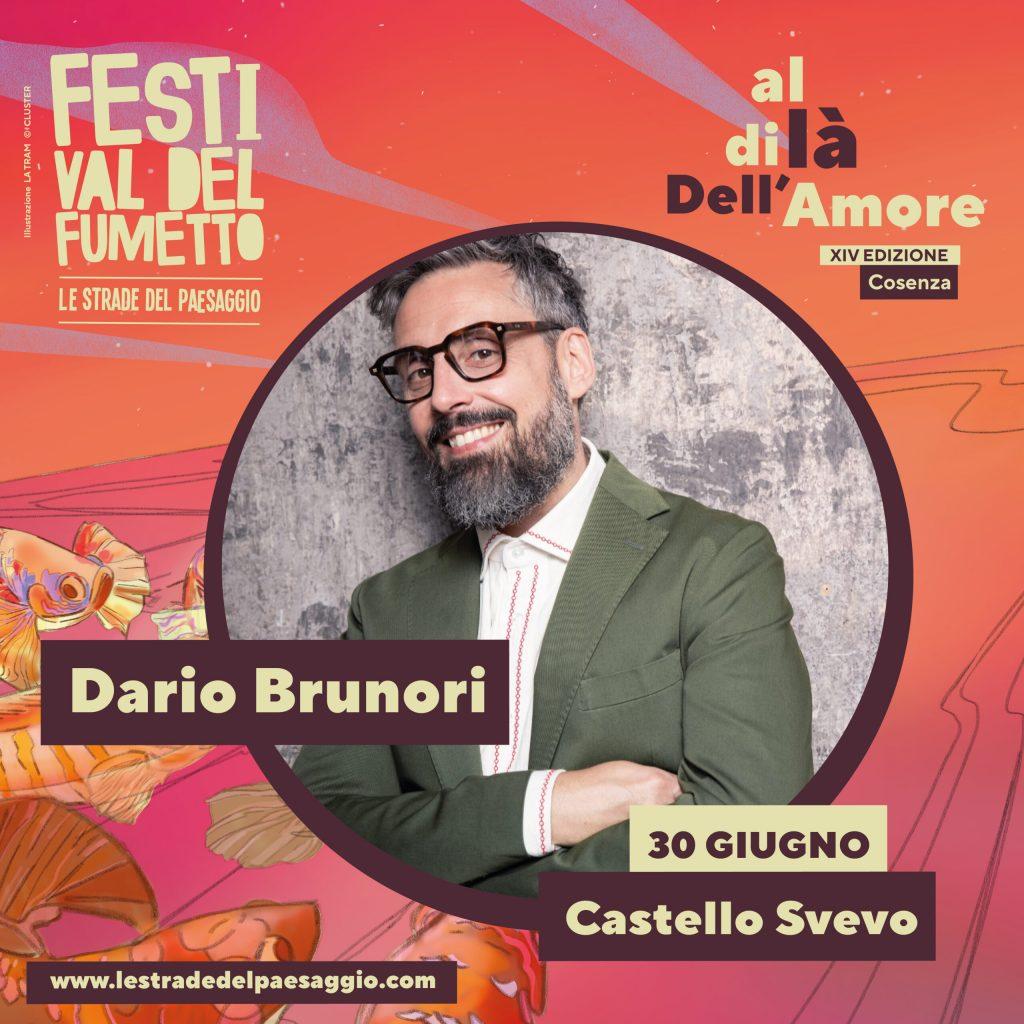 Manifesto Festival Del Fumetto le strade del paesaggio