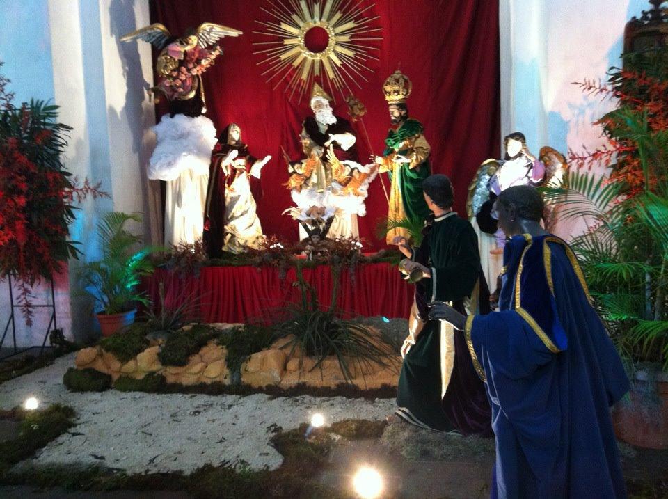Nacimientos -  La Merced Antigua Guatemala