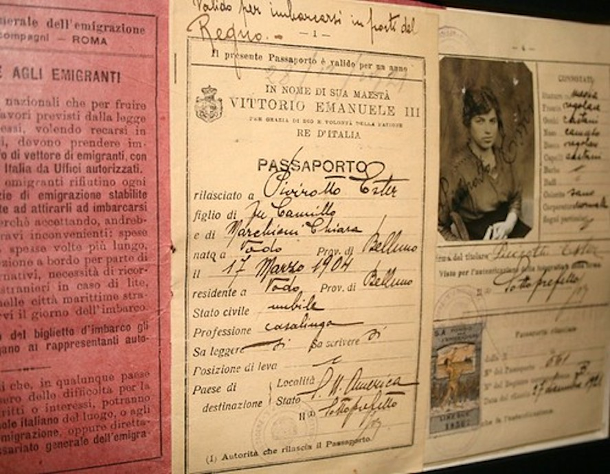 Inmigración - Passaporto