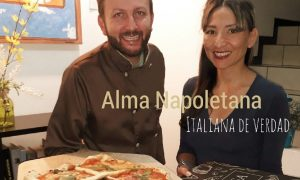 pizza - Salvatore y su esposa