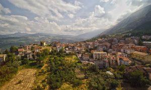 Región Abruzzo Vista Aérea Evidenzza