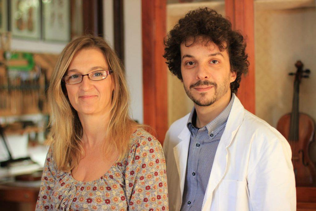 Elisa Scrollavezza e Andrea Zanrè