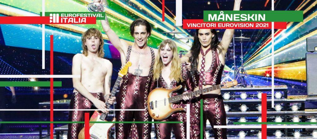 Eurovision Song Contest 2022 - vittoria dei Måneskin