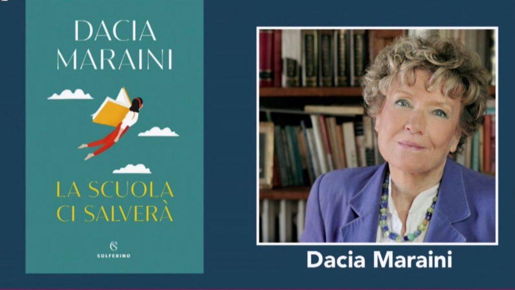 locandina del libro di Dacia maraini