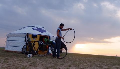tour in bike