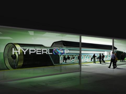 Un pezzo d'Italia sul treno del futuro - Hyperloop