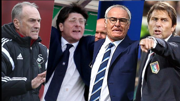 La premier league è uno spettacolo di allenatori italiani