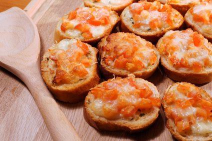 Le bruschette deliziose di Brusco Lo Strabuono