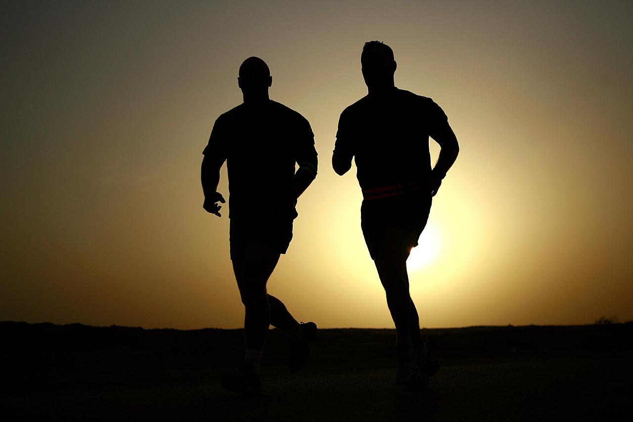 la corsa di Michele evangelisti