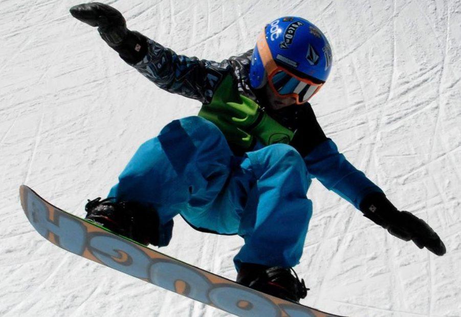 Ian Matteoli con lo snowboard ai piedi è un talento naturale
