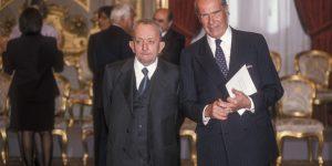 I ministri Tullio De Mauro e Umberto Veronesi