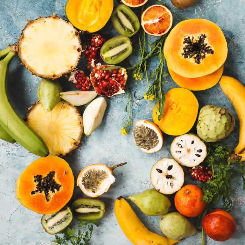 la frutta esotica è solo di stagione?
