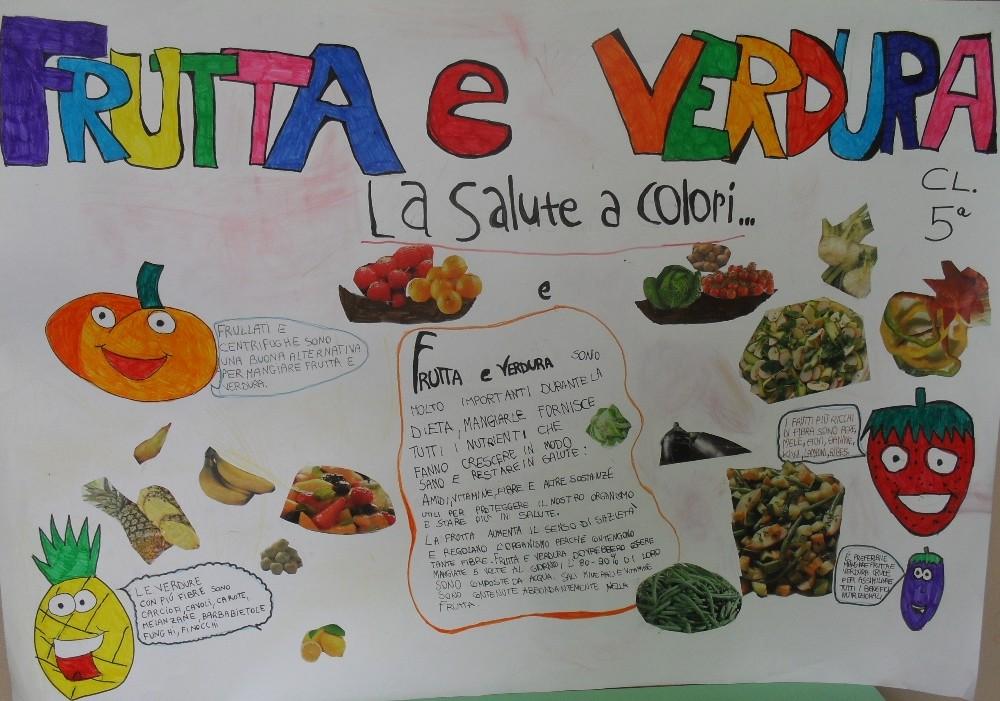 insegniamo ai nostri figli un'alimentazione sana a scuola