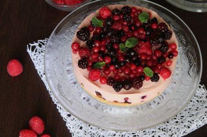 Deliziosa ai frutti di bosco è la nostra cheesecake preparata per i nostri lettori di italiani.it